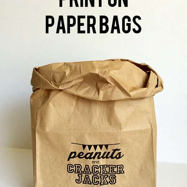 How to print on paper bags, at home, and free graphics, by YourDayYourStyle.com