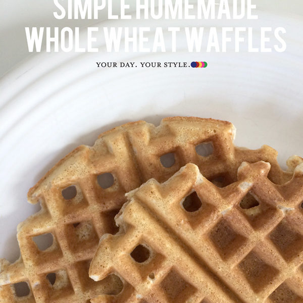 How to Make Homemade Whole wheat waffles