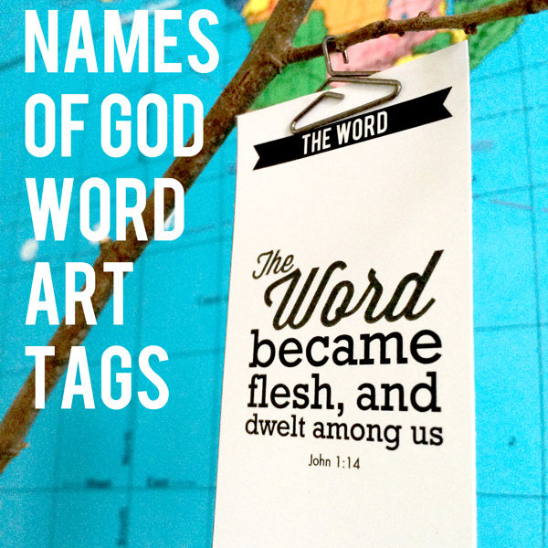 Names of God Printables for Easter or Christmas. ©2014 Resa Design, LLC