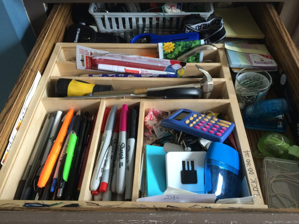 junk drawer ©2015 Resa Design, LLC