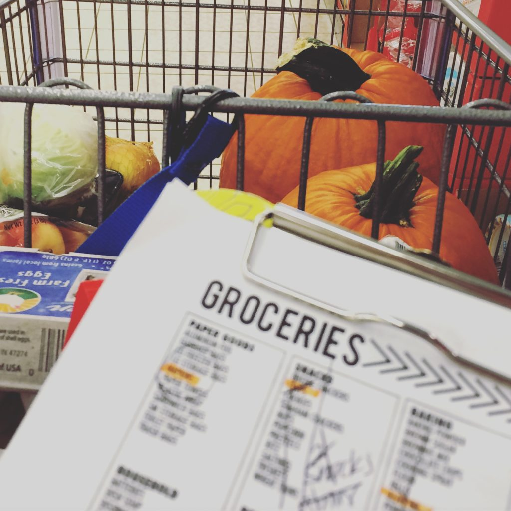 Your Day. Your Style. grocery list picture in real life