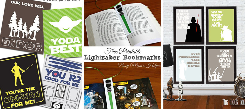 Star Wars Activities and Printables