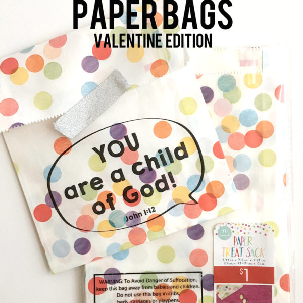 How to Print on Paper Bags & free valentine art by Resa Troyer for Your Day Your Style.com