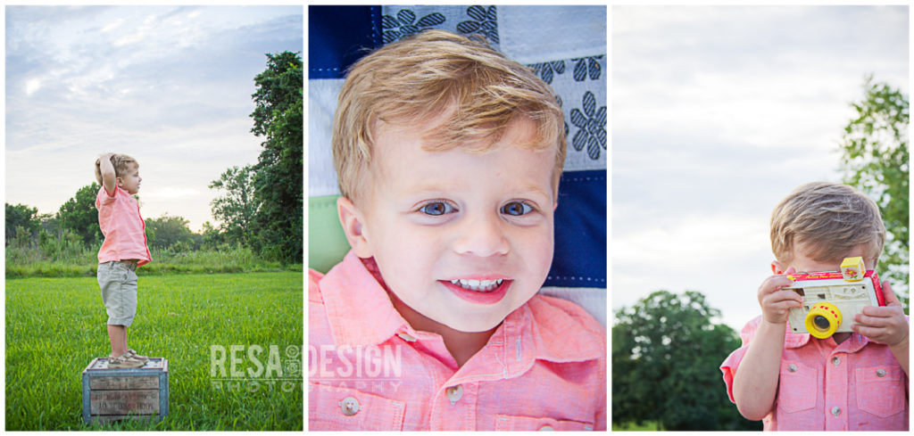Tips for Stress free Family Photos. Image by Resa Design, LLC