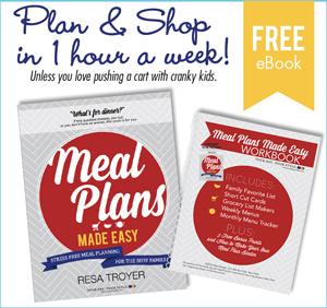 Free Meal Plan Book