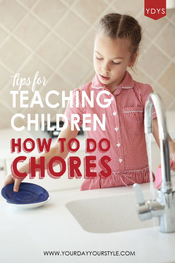 Teaching Kids how to do Chores and Free Chore Printables