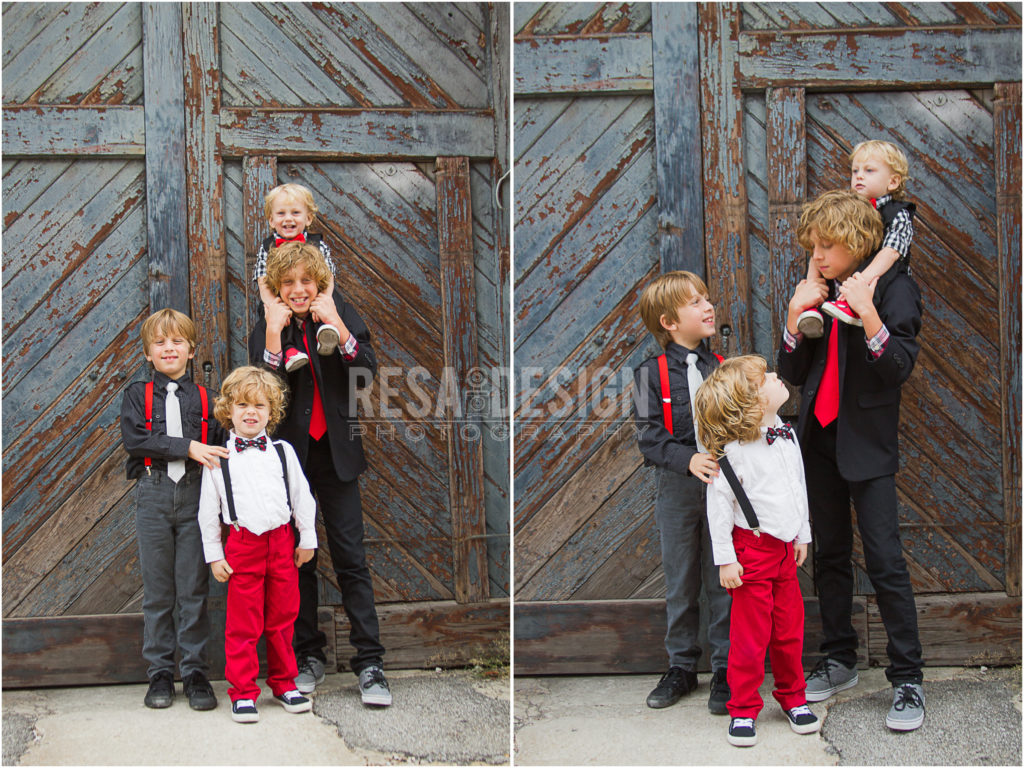 Tips for Stress Free Family Photo Sessions. Image by Resa Design, LLC