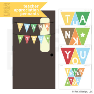 Teacher Appreciation Decoration Printables