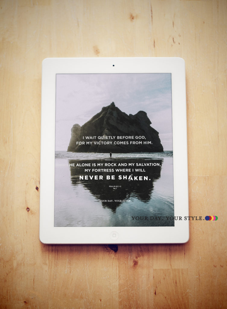 Free Digital Wallpaper- Rest, Psalm 62 - by Your Day. Your Style.com