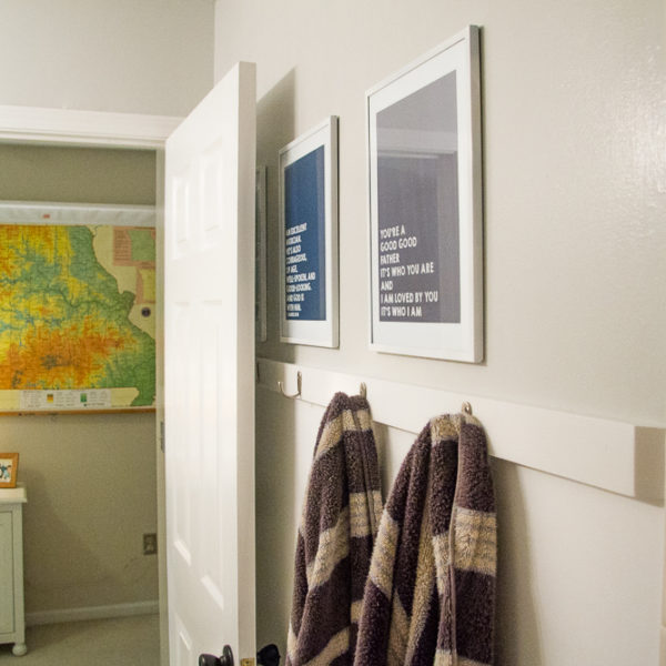 Scripture Art for Boys Room from Your Day. Your Style.