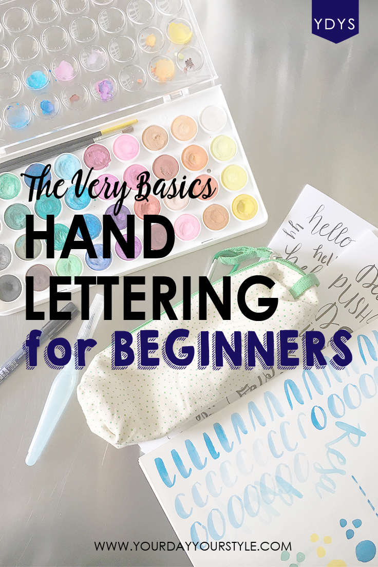 Hand Lettering for Beginners from Your Day. Your Style.