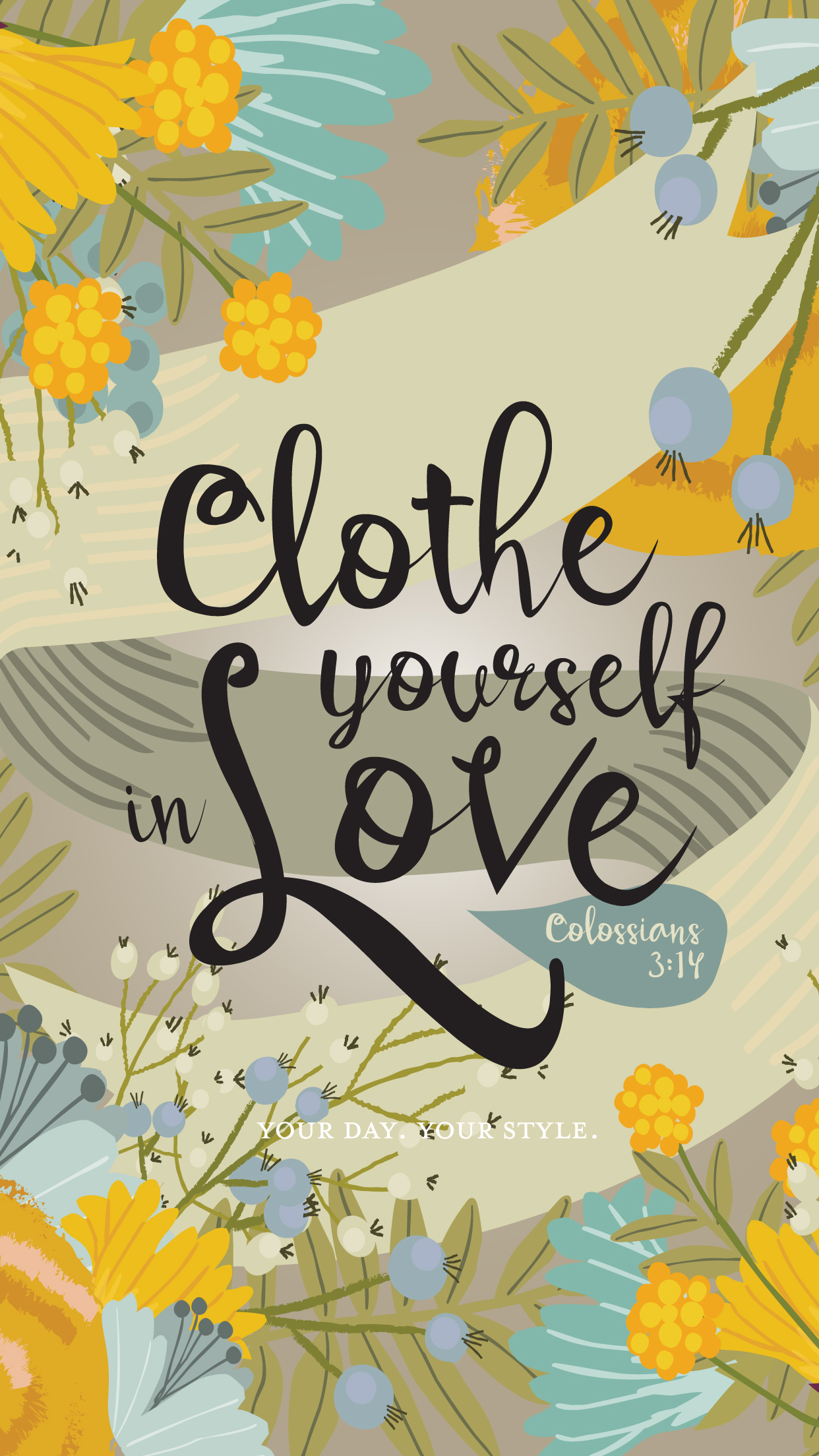 Clothe yourself in love FREE