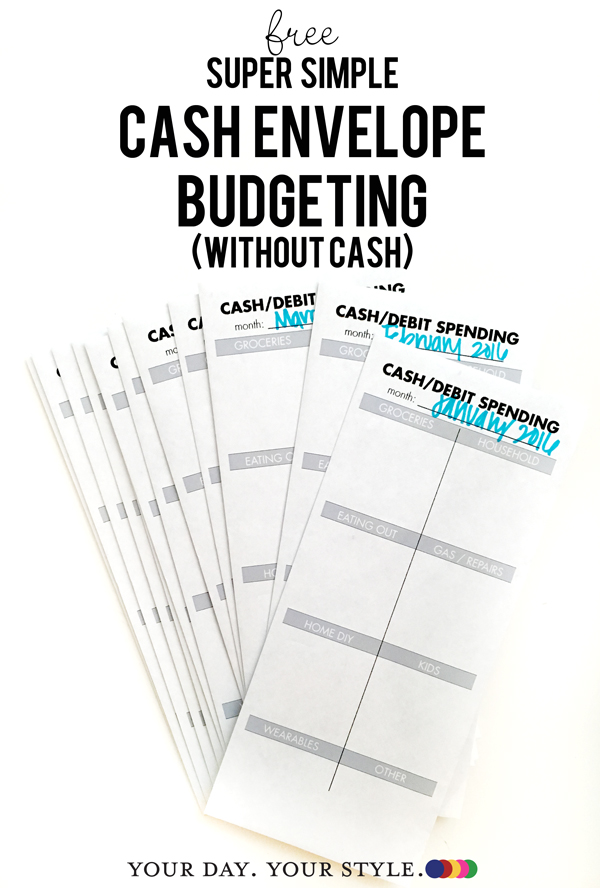 envelope budgeting without cash